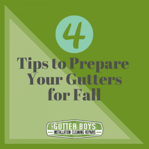 4 Tips To Prepare Your Gutters For Fall Cincy Gutter Boys