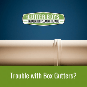 Trouble with Box gutters