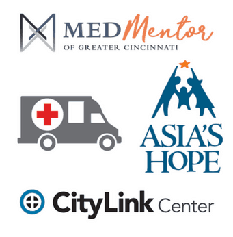 With your help, we've donated to The Red Cross, Asia's Hope, MedMentor, CityLink, and other non-profits that are changing the world for the better.