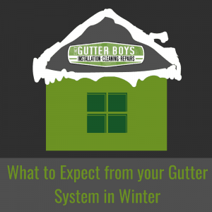 What to Expect from your Gutter System in Winter