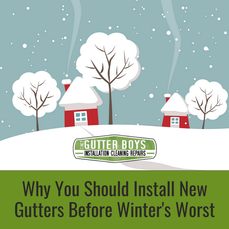 Ice Dams And Icicles Why Install New Gutters Before Winter Worsens Cincy Gutter Boys