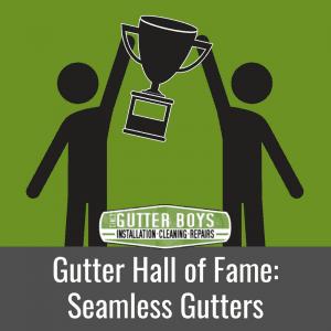 Gutter Hall of Fame: Seamless Gutters