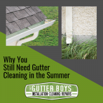 Why You Still Need Gutter Cleaning in the Summer